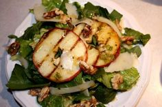 Grilled Apple Salad with Brown Sugar Vinaigrette Dressing   Tasty Kitchen: A Happy Recipe Community!
