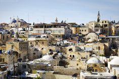 Muss man lieben: Blick über die Altstadt von #Jerusalem - #OldCity #Israel