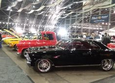 Over 1 Million Square Feet Of Cars! Barrett Jackson Auction, Square Feet, Corvette, Mustang, Bmw, Trucks, Cars, Corvettes, Mustangs