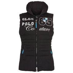 HV Polo Weste Inter Weste Inter aus dem Hause HV Polo. Modische und warm gesteppte Damenweste in Taillierter Form. Trendige Applikationen auf der Brust.