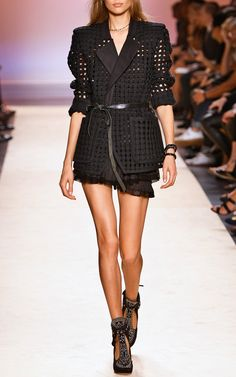 Faded Black Vella Jacket by Isabel Marant for Preorder on Moda Operandi