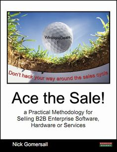 Sales Training Book Ace the Sale for software salesmen