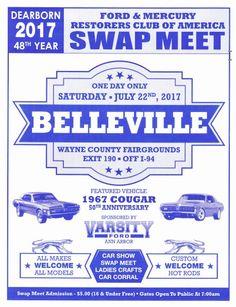 Ford & Mercury Restorers Club of America   Wayne County Fairgrounds Belleville MI   July 22 2007      Swap meet and car show