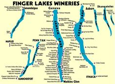 Seneca Lake Wine Tours-travel a few hours away to sip wine and then relax at a hotel with my hunny for a weekend. Happy 21st!