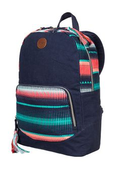 0c7fb2ccdc23 Roxy Primary - Mochila para Mujeres - Azul - Planet Sports Canvas Backpack