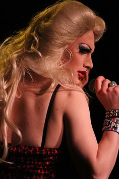 Jinkx Monsoon as Hedwig in Hedwig and the Angry Inch