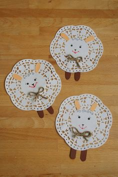 Papír torta csipke bárány Kifli és levendula blog
