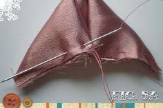 crafty jewelry: silk flower brooch tutorial | make handmade, crochet, craft