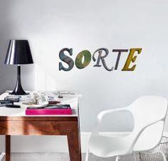"Adesivo de Texto ""Sorte"", by I-Stick"