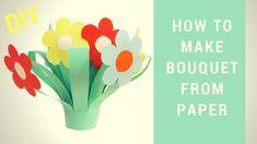 Как сделать корзину с цветами на 8 марта своими руками. Мастер класс!