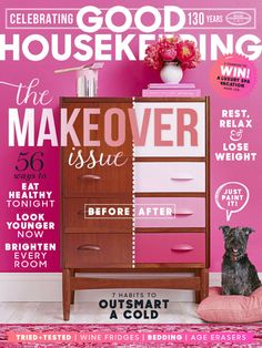 Look who made the cover of Good Housekeeping. Schnauzers Rule! #Schnauzers
