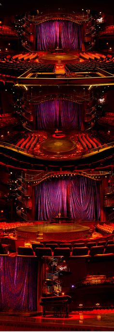 A perfect view from every seat. | Zumanity by Cirque du Soleil