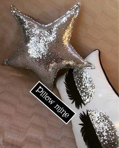 Nursery Room Pillow Star Pillow Gold Sequin Pillow Birthday