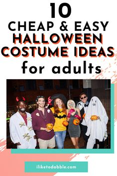 Looking for the perfect DIY Halloween costume idea? Check out this jam packed list with the items you will need for each and where to get them online for cheap.