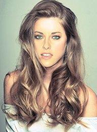 Kristen Stewart; love her hair