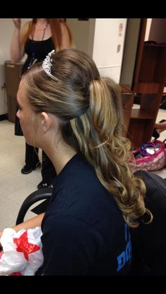 Possible wedding hair??  Only like the Belle look From Macy originally.