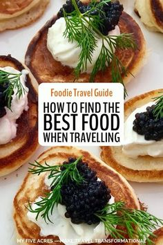 Are you a foodie traveller? Want to eat the most delicious food when you travel while making sure you avoid the worst? Our pro tips will help you make sure every meal is heavenly. #travel #foodie #food #mindful #myfiveacres #foodietravel A Food, Good Food, Road Trip Food, Good Pizza, Travel Hacks, Travel Tips, Travel Guides, Food Festival, Foodie Travel