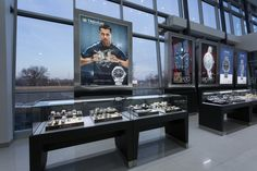 """The Diamond Center #storefixtures by Artco Group """" The only way to do great work is to love what you do"""" #retaildesign #storedesign #jewelers"""