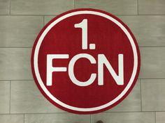 Fan Fußmatte 1. FCN 100 cm rund