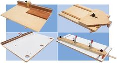 Unlock your saw's full potential.   by Seth Keller         The tablesaw's power and precision put it at the center of everyone's shop. Despite this honored position, a tablesaw is mostly used for mundane ripping tasks. To make better use of my tablesaw, I use these four simple jigs in my shop. They take advantage of the tablesaw's speed and accuracy without tempting you to perform …
