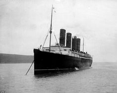 Cunard's Queen Victoria will pay tribute to the RMS Lusitania (pictured), which sank after it was hit by a German U-boat's torpedo