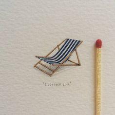 Artworks by Lorraine Loots Detailed Paintings, Mini Paintings, Watercolor Paintings, Watercolours, Miniature Paintings, Mini Drawings, Art Drawings, Small Drawings, Light Bulb Art