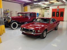 Mustang after restoration.