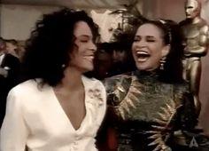 New party member! Tags: oscars laughing laugh academy awards oscars 1991 oscars1991 jasmine guy debbie allen