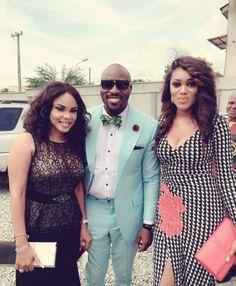 Pictures From Seun Akindele's Wedding
