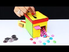 How to Make a Candy Vending Machine at Home (Coin Operated) - YouTube