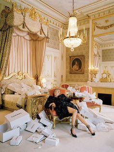 Kate Moss shoot