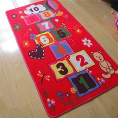 New Arrival Hopscotch Pattern Baby Play Mats Crawling Rug Carpet Educational Toys For Girls Games Nordic Style Room Home Decor #Affiliate