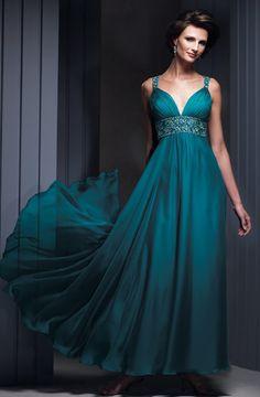 Sleeveless designer mother of bride dress
