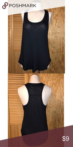 a45db9e3eef226 EUC A F basic black tank top basic tank from abercrombie black excellent  condition! Abercrombie   Fitch Tops Tank Tops