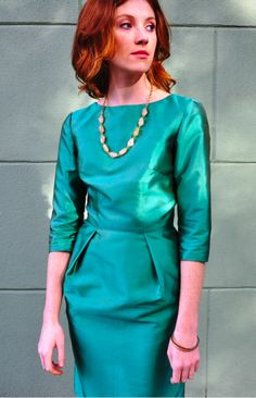ELSA AND ME dresses are made in New York with organic or eco fabric