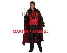 Disfraz de vampiro adulto. Mucha más variedad en www.martinfloressl.es