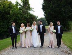 #Gwendolynne patience #Wedding #bellinghamcastle #flowers #bouquet #clairebaker #bridesmaids #blush #white #bellinghamcastle #clairebaker #juliecumminsphotography