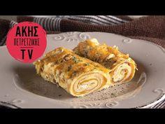 Κρέπες σουφλέ από τον Άκη Πετρετζίκη. Φτιάξτε το αγαπημένο μαμαδίστικο φαγητό, κρέπες με τυρί, ζαμπόν και κρέμα γάλακτος! Τέλειο γεύμα!