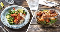 This recipe makes a tasty dinner, plus we've given you extra ingredients to transform your cooking into a different and satisfying lunch for the next day. Rice Bread, Pork Mince, Roasted Cashews, Red Curry Paste, Sweet Chilli Sauce, Kaffir Lime, Salad With Sweet Potato, Coconut Rice, Dinner Salads