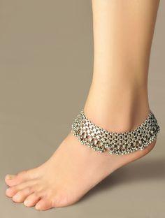 Tribal Decorative Afghani Anklet - Single