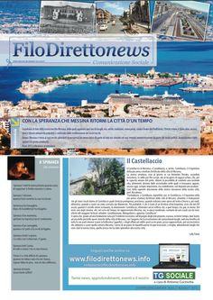 Impaginazione grafica del mensile Filodiretto, giornale di approfondimento a scopo sociale e benefico - Prima pagina - Anno 2013 - Terzo numero