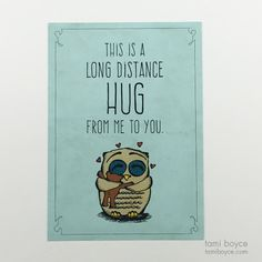 Long Distance Hug, Warm Fuzzy Series Just Missing You, Love You, All I Ever Wanted, Share The Love, Follow Me On Instagram, Long Distance, Hug, First Love, Positivity