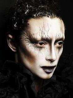 Make-up Artist: Alex Box | Artistic & Editorial #theatre #stage makeup.  #illamasqua