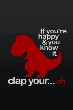 Clap your... Oh!