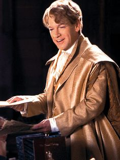 Gilderoy Lockhart, wizard.  Not a wicked wizard per se, but he's definetly dishonest and sneaky.