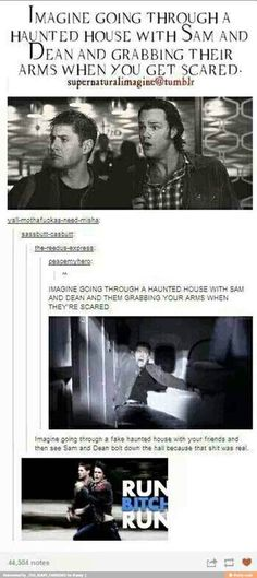 Jensen used to work a haunted house to scare people. Said it was fun cause with a mask no one would know it was him.