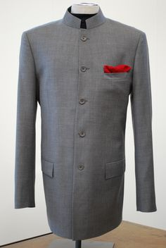 Nehru Jacket SOURCE: http://www.gentlemansgazette.com/nehru-jacket-guide-mao-suit/