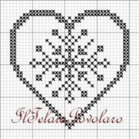 Sixth little heart free from cross-stitch, tapestry point, filet or any way you want! Cross Stitch Heart, Cross Stitch Cards, Cross Stitching, Filet Crochet, Crochet Motif, Cross Stitch Designs, Cross Stitch Patterns, Minnie Baby, Graph Paper Art