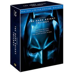 The Dark Knight Trilogy: Limited Edition Giftset (Blu-ray) (Widescreen)