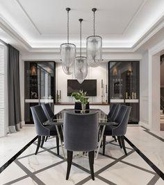 4 Amazing Contemporary Modern Dining Room Design Ideas